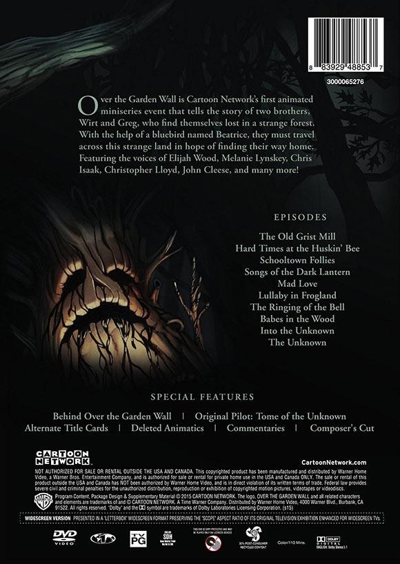 Over The Garden Wall Dvd Bonus Features Announced