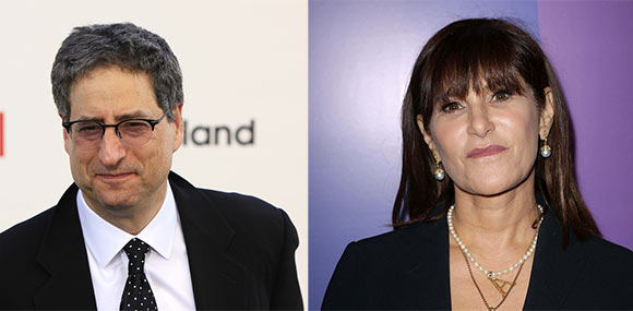 Tom Rothman and Amy Pascal. (Photos: Shutterstock.com)