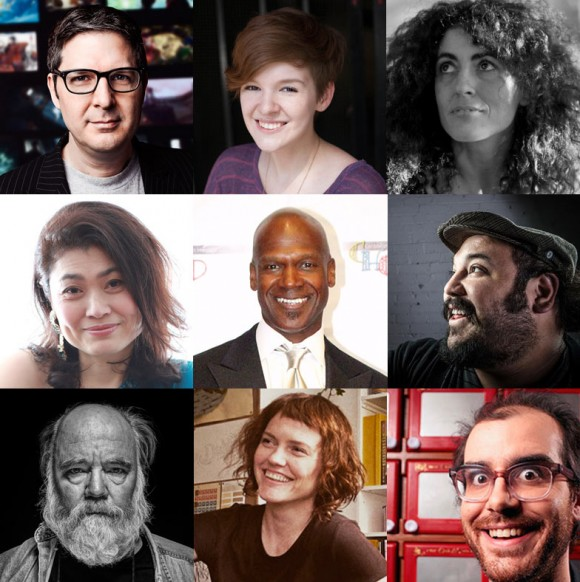 Guests at 2015 Pixelatl include (from left to right, top to bottom): Mark Osborne, Noelle Stevenson, Regina Pessoa, Michiru Yamane, Rob Edwards, Jorge Gutierrez, Phil Tippett, Annie Atkins, Pete Browngardt.