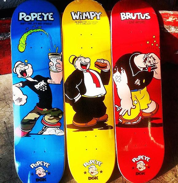 DGK x Popeye