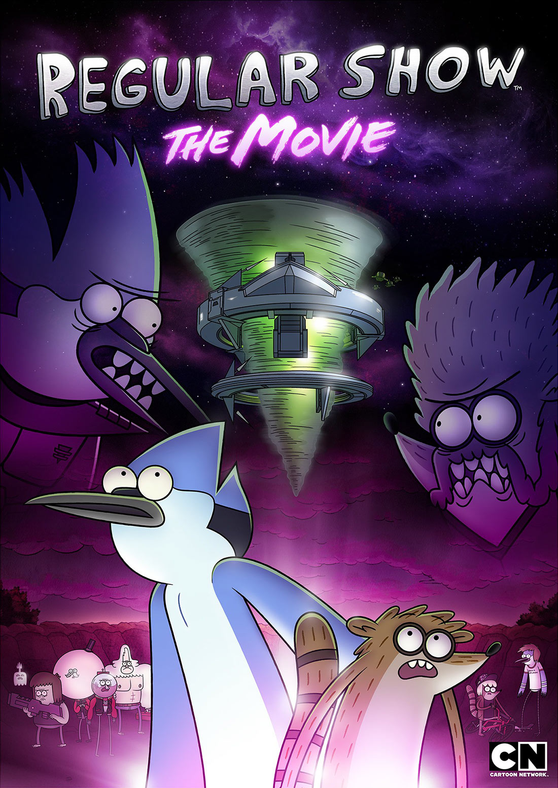 """""""Regular Show: The Movie"""" poster. (Click to enlarge.)"""