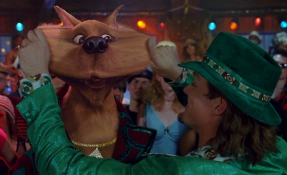 "Scooby-Doo as he appeared in the live-action/CG hybrid ""Scooby-Doo 2: Monsters Unleashed."" (Click to enlarge.)"