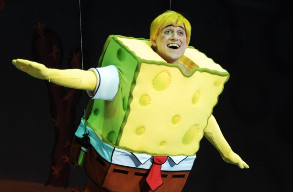 "Nickelodeon has previously presented the musical ""SpongeBob SquarePants: The Sponge Who Could Fly"" (pictured above) throughout Asia, Australia, and South Africa."