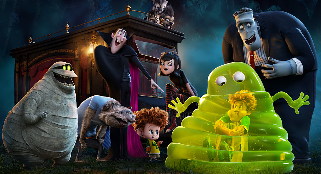 """Hotel Transylvania 2."" (Courtesy of Sony Pictures Animation.)"