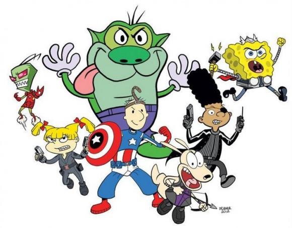 Avengers Style Nicktoons Movie In Development