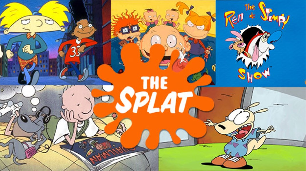 Nickelodeon will resuscitate its 39 90s cartoons with the splat for Classic house tunes 90s