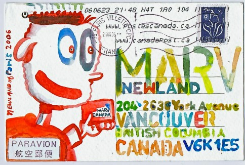 Artist of the Day: Marv Newland