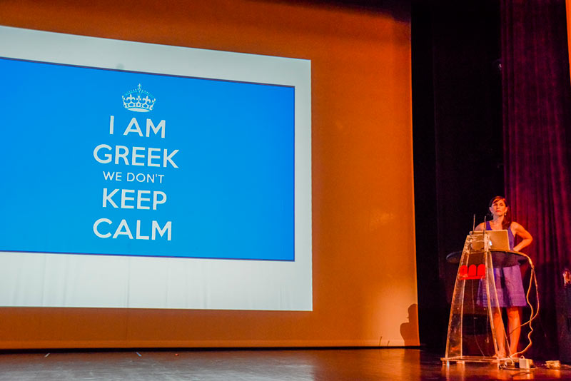 A presentation at AnimaSyros by Disney director and producer Aliki Theofilopoulos Grafft.