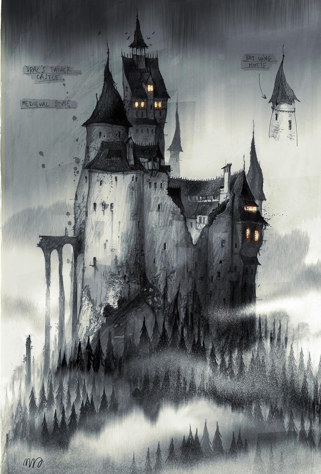 Vlad castle concept by Sylvain Marc.