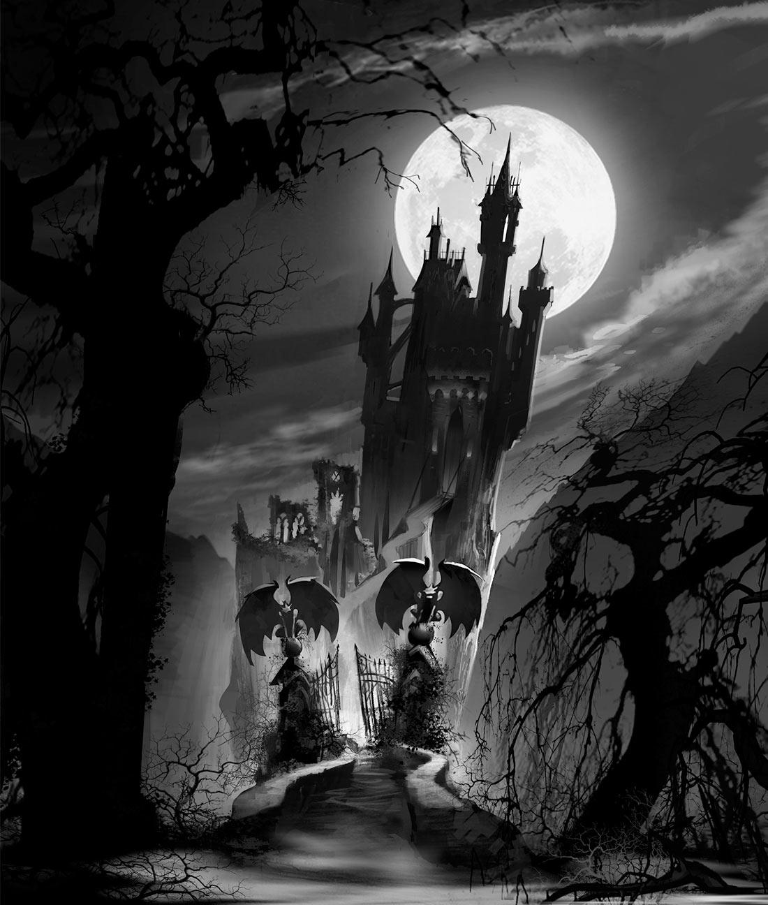 Vlad castle concept by Aurora Jimenez.