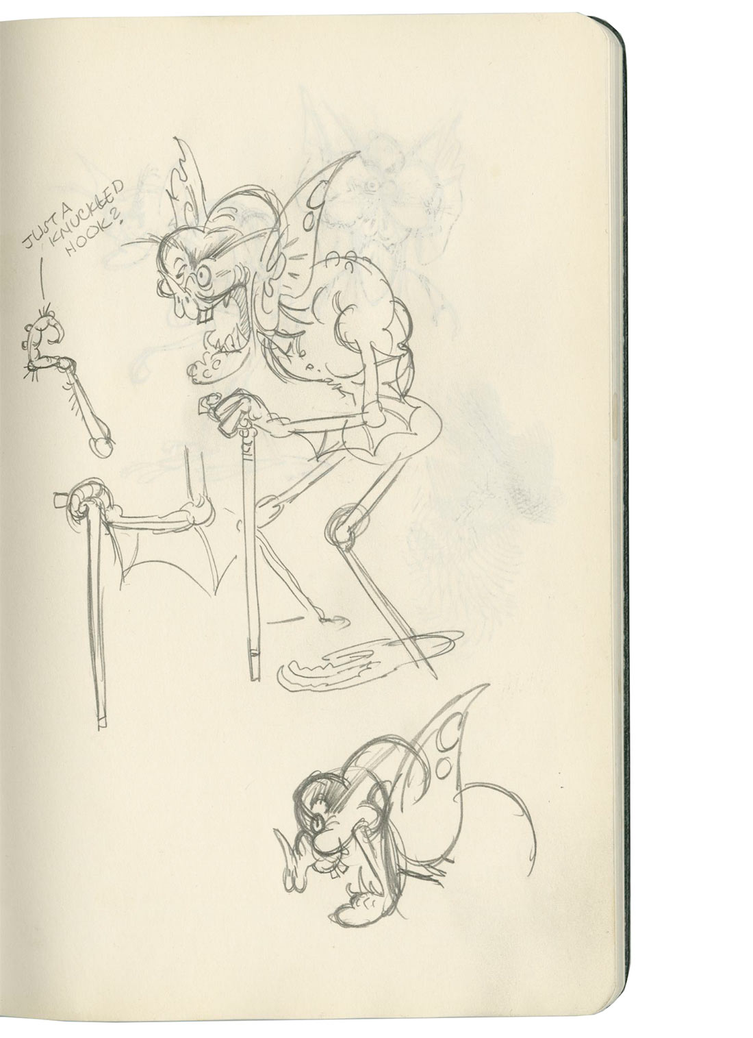 Character concepts for Bela by Stephen DeStefano.