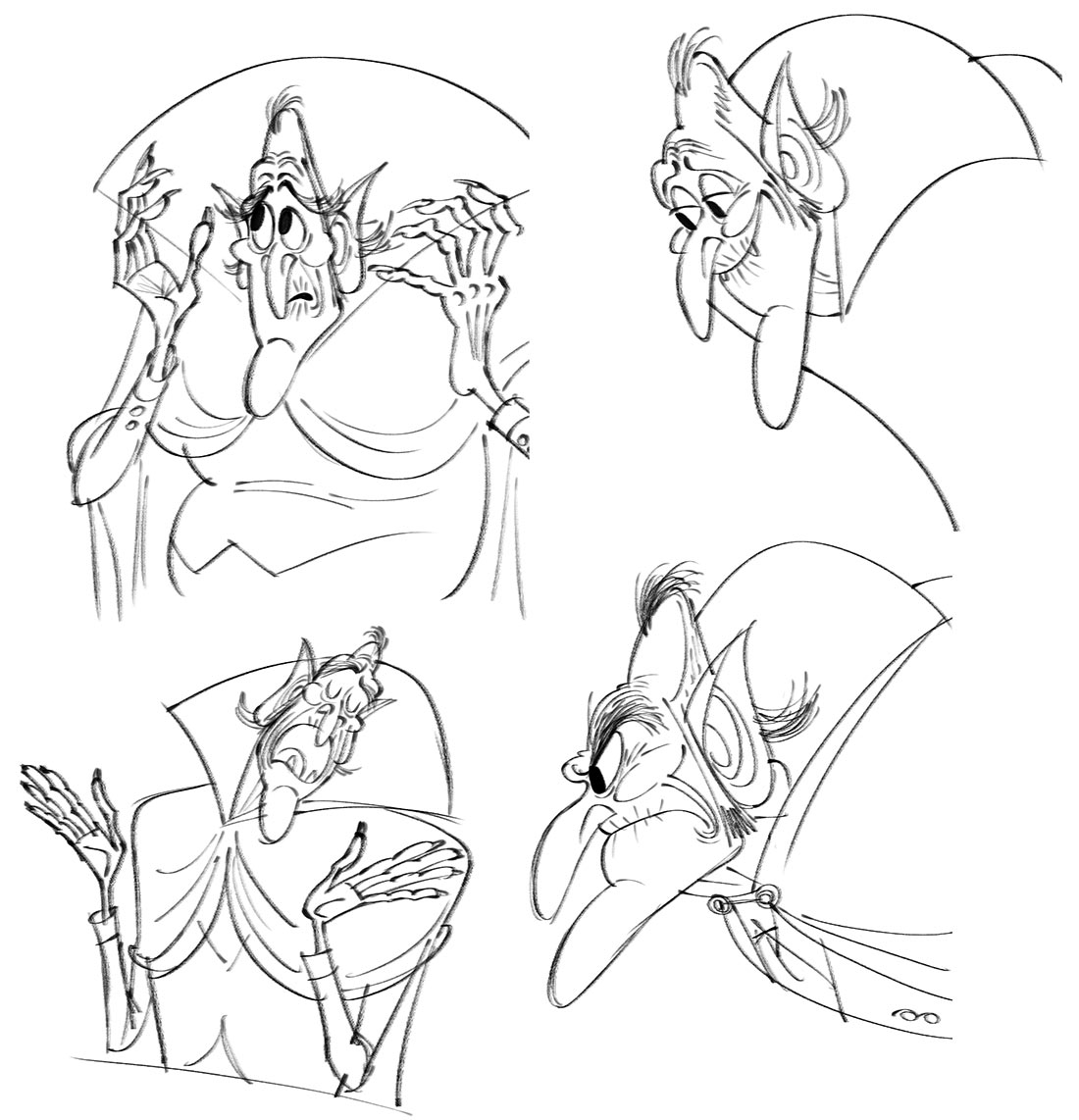 Character concepts for Vlad by Craig Kellman.