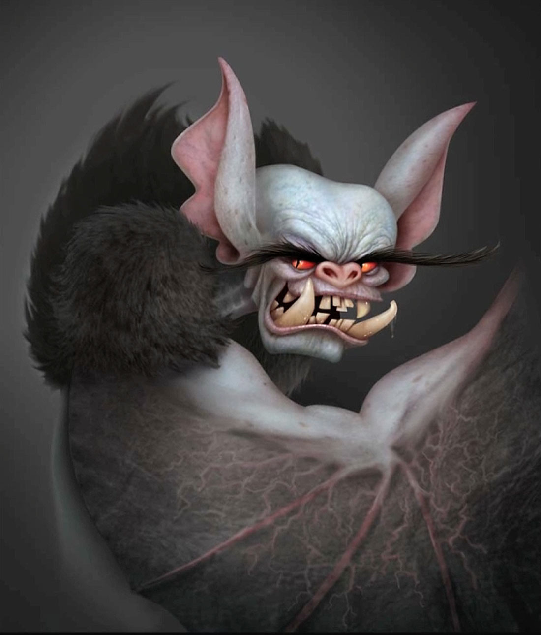 Concept painting of Bela by Michael Kurinsky.