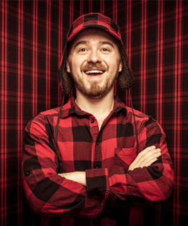 """Gravity Falls"" creator Alex Hirsch. (Photo by Greg De Stefano.)"