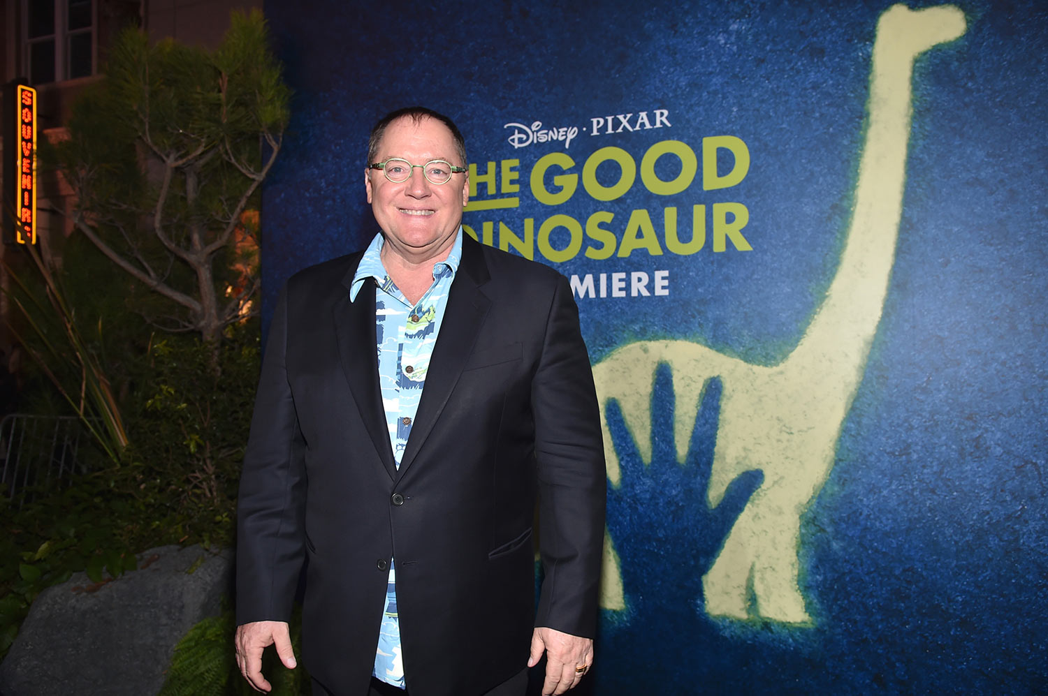 """But it was an even more memorable evening for me…John Lasseter."""