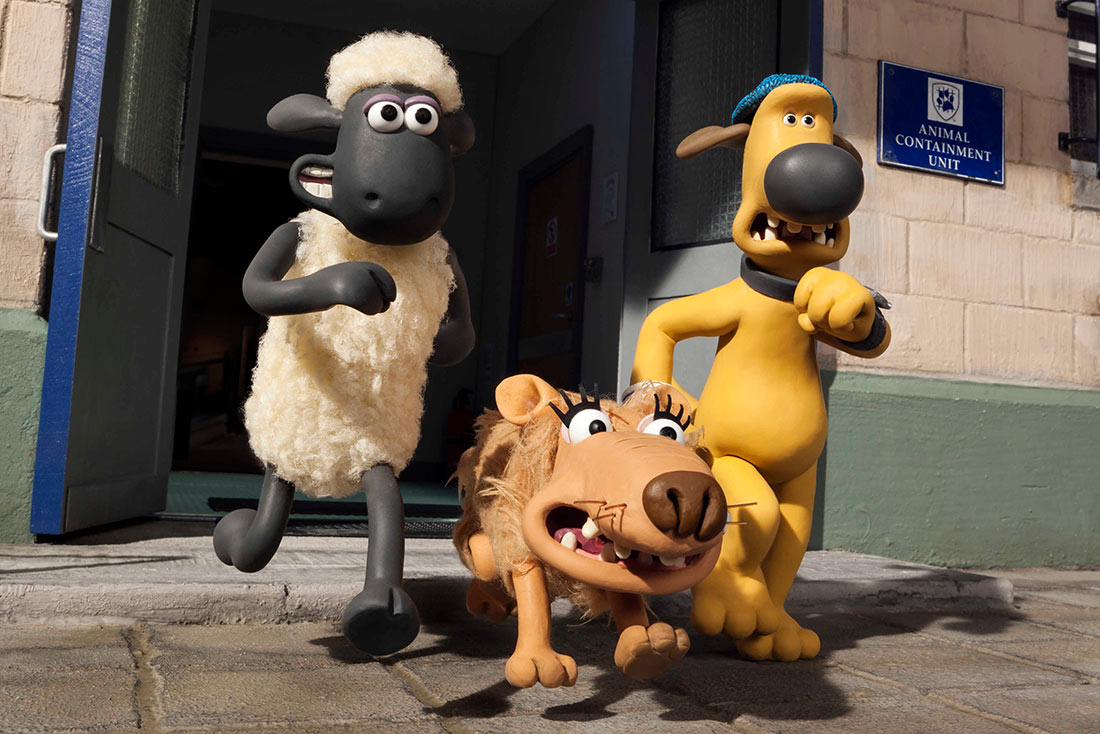 """The stars of """"Shaun the Sheep Movie."""" (Aardman Animations/Lionsgate )"""