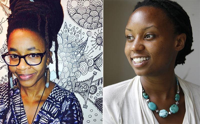"""Nnedi Okorafor (l.) and Wanuri Kahiu created the feature film idea """"The Camel Racer."""""""