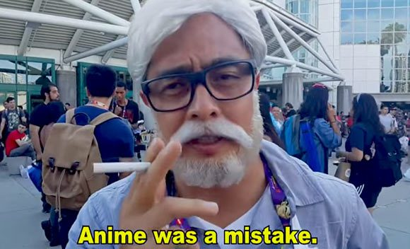 Hayao Miyazaki Cosplay Is Now A Thing