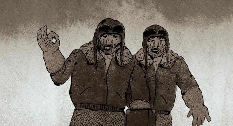 'Pilots On The Way Home' Selected As Top Animated Short of 2014