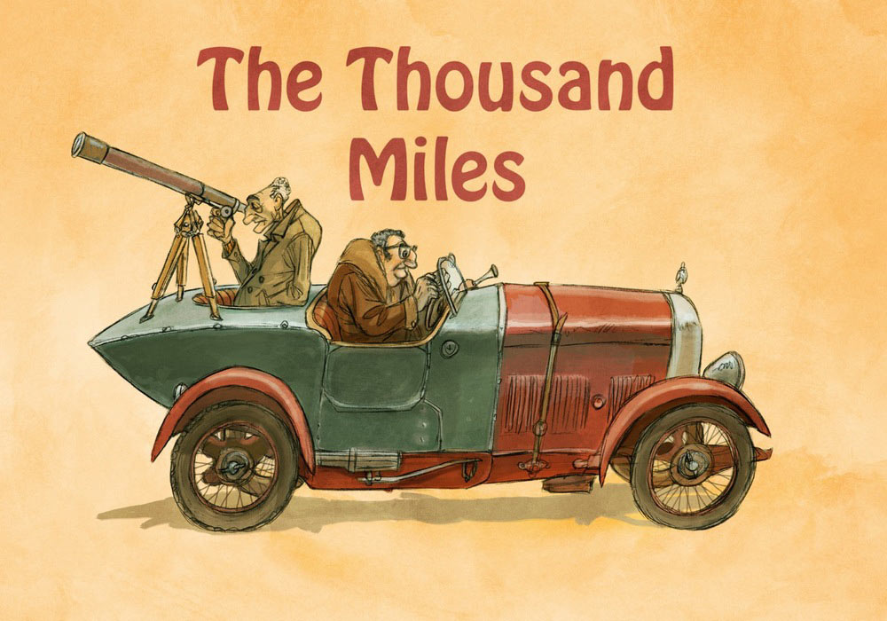 """Concept art from """"The Thousand Miles."""""""