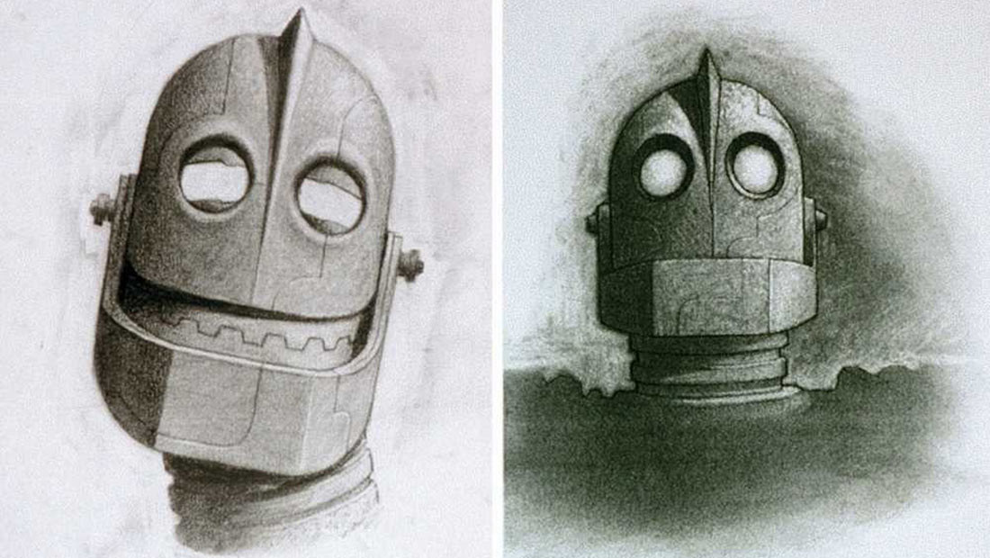 Preview: Brad Bird's 'The Iron Giant' Is Getting An Art Book