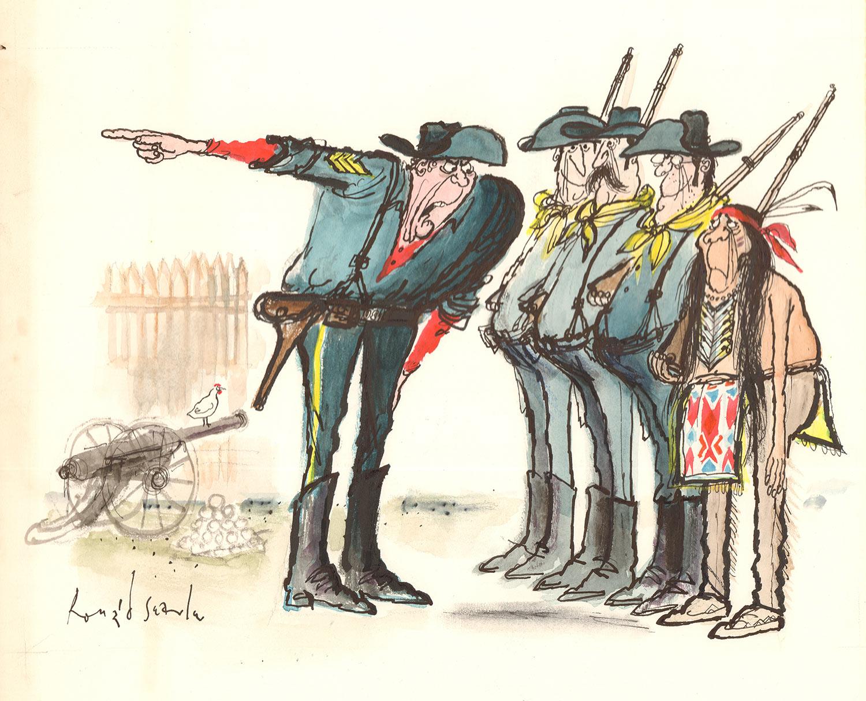 Image: Copyright Deutsches Museum für Karikatur und Zeichenkunst Wilhelm Busch