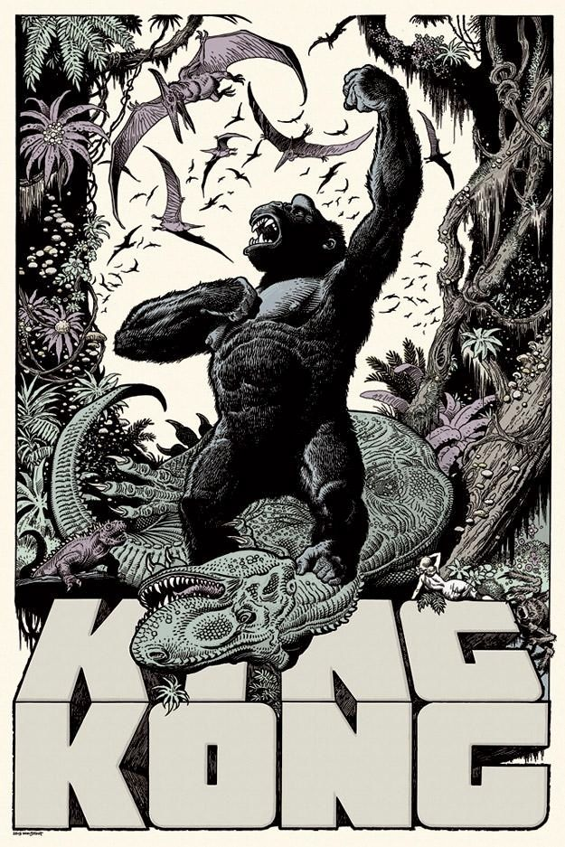 Artist of the day william stout - King kong design ...