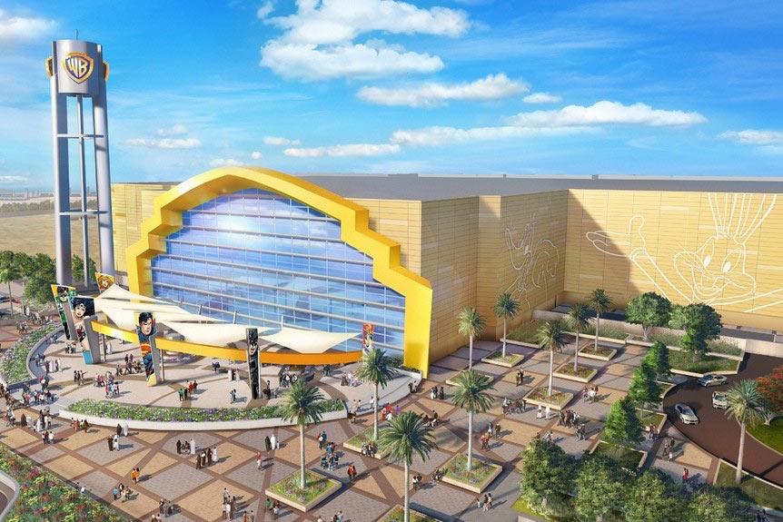 Warner Bros. World Abu Dhabi.