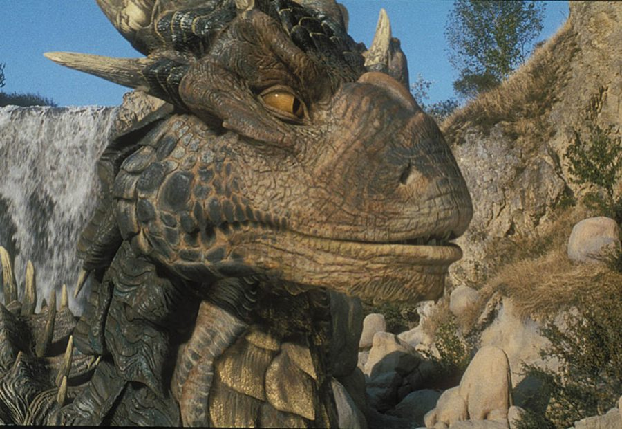 ILM fashioned Draco to have the same kind of lip curls as Sean Connery exhibited in various film performances.