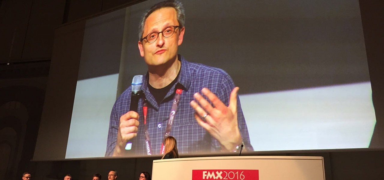 Jan Pinkava, ex-Pixar, but now Creative Director at Google Spotlight Stories, shared his insights at FMX into VR and interactive and immersive filmmaking.