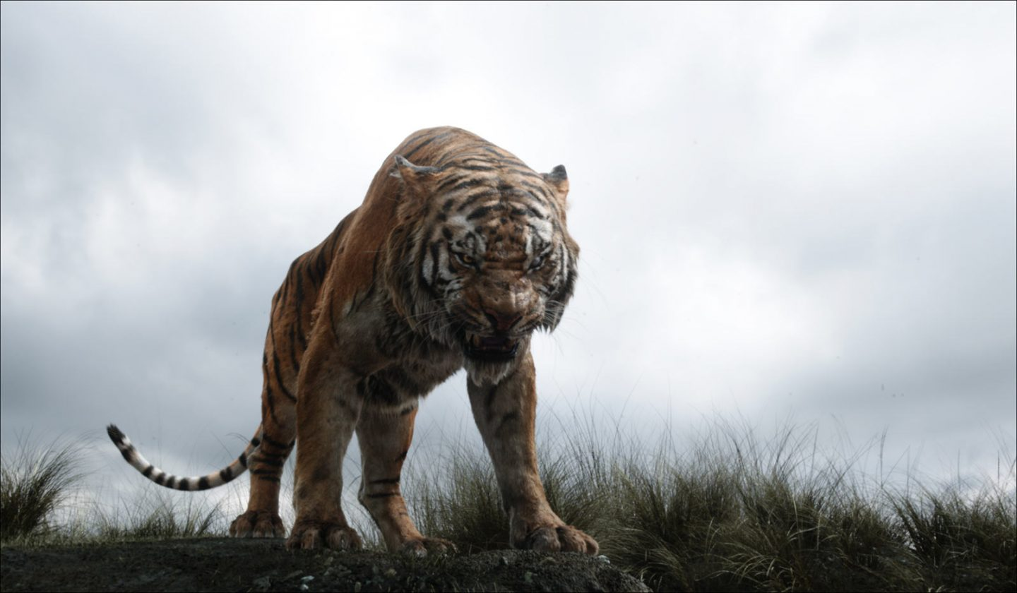 Shere Khan was one of the many animals brought to life by MPC.