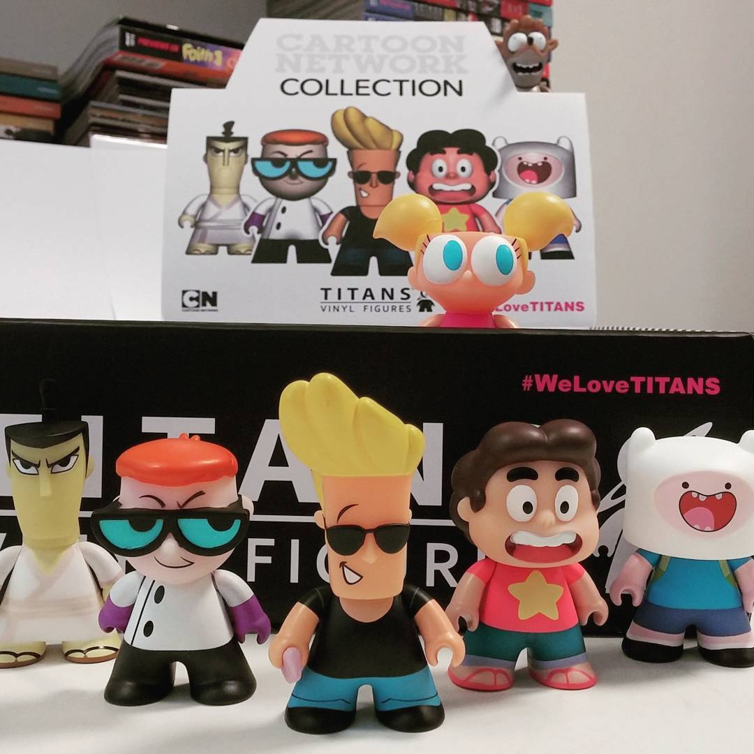 Cartoon Network Vinyl Mini Figures From Titan