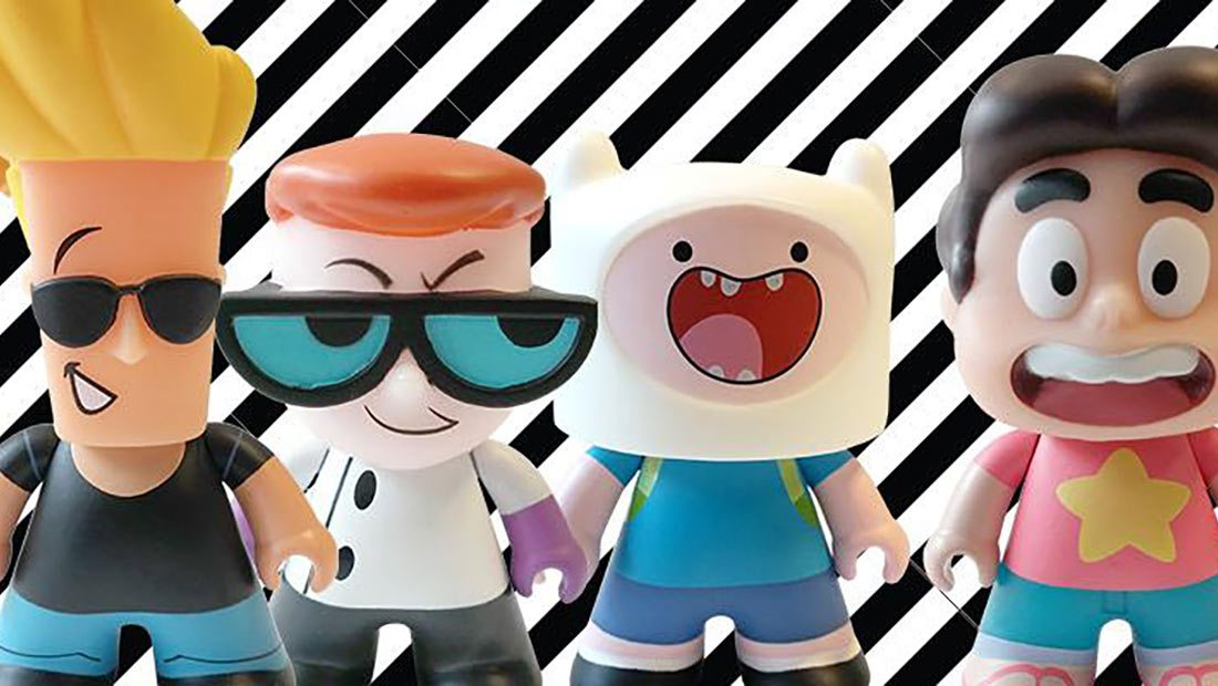 Cartoon Network Vinyl Mini Figures From Titan