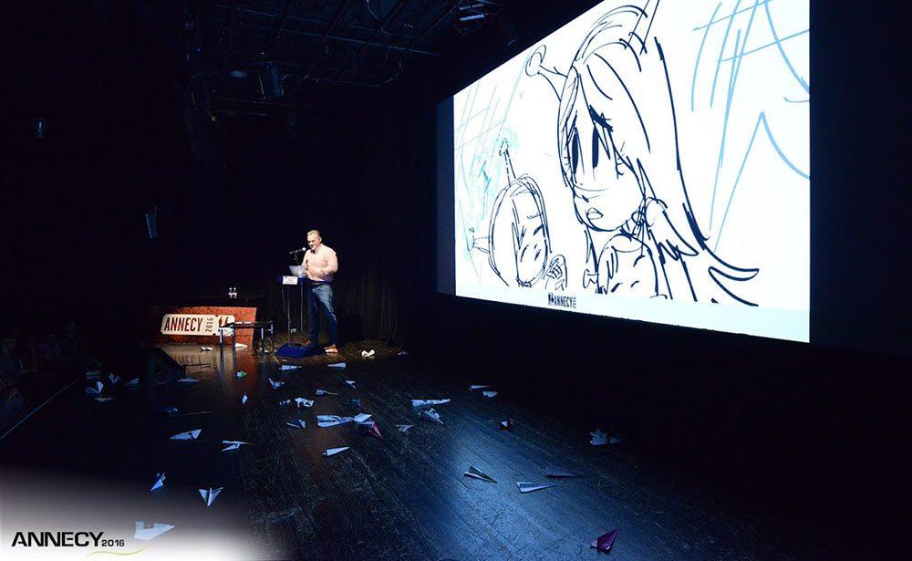 "Genndy Tartakovsky presents a work-in-progress look at ""Samurai Jack."" (Photo : D. Bouchet/CITIA)"