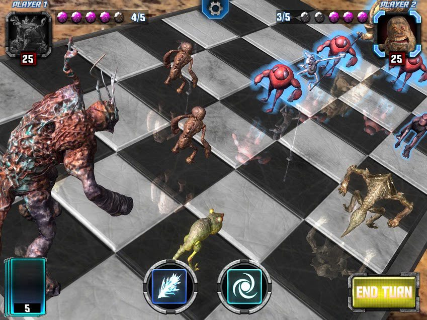 Hologrid game screenshot.