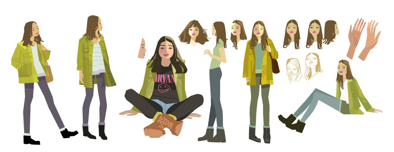 Character design by Oren Haskins.