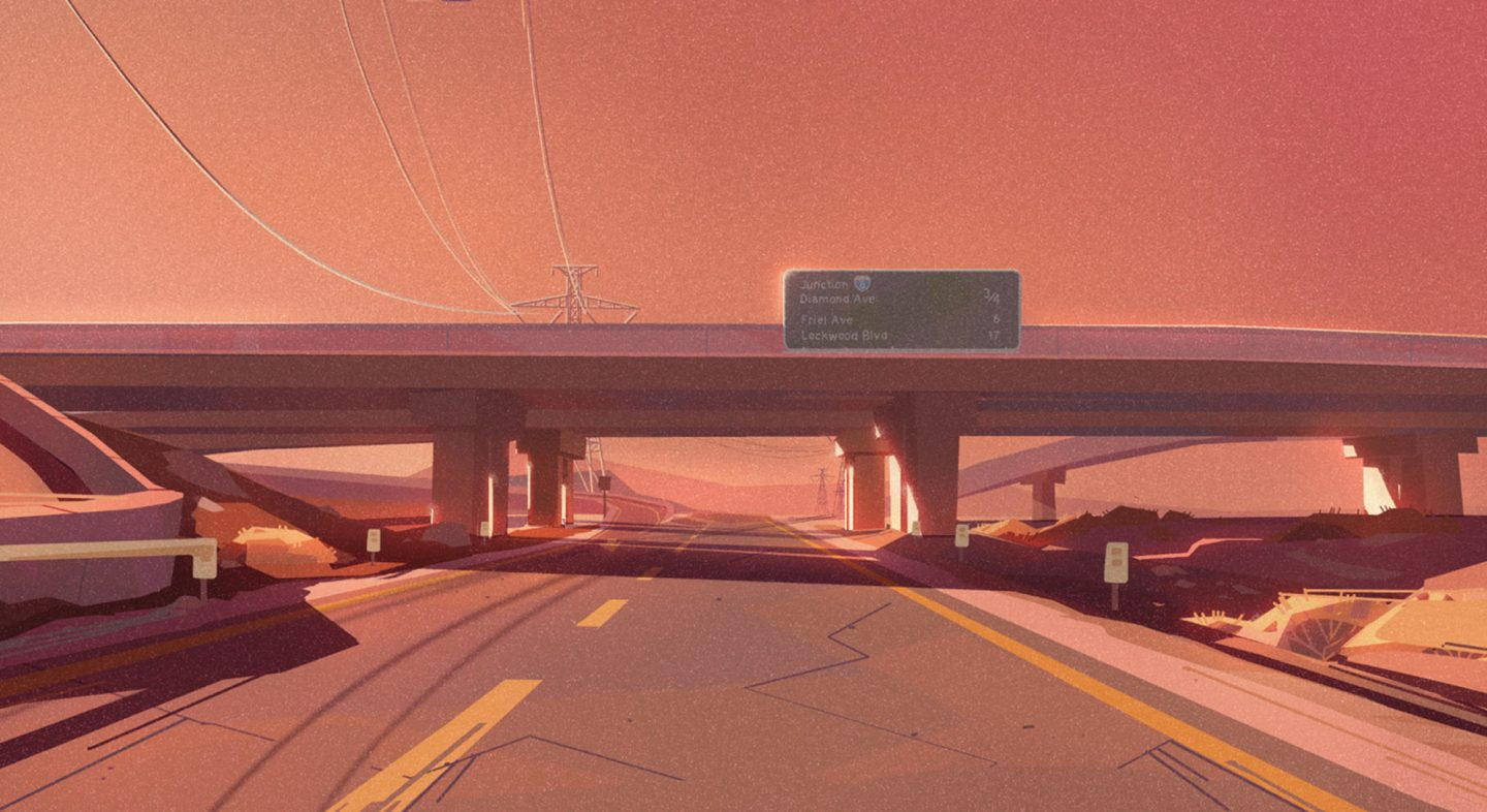 Concept painting by Tuna Bora.