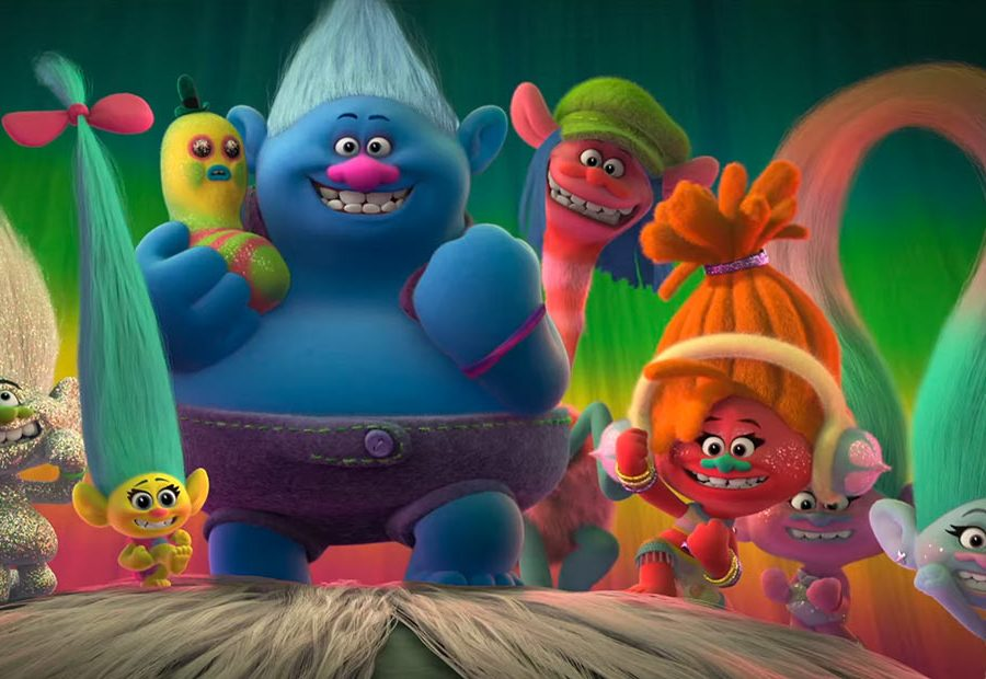 Troll Cartoon Movie New ' trolls ' trailer shows off a different side ...