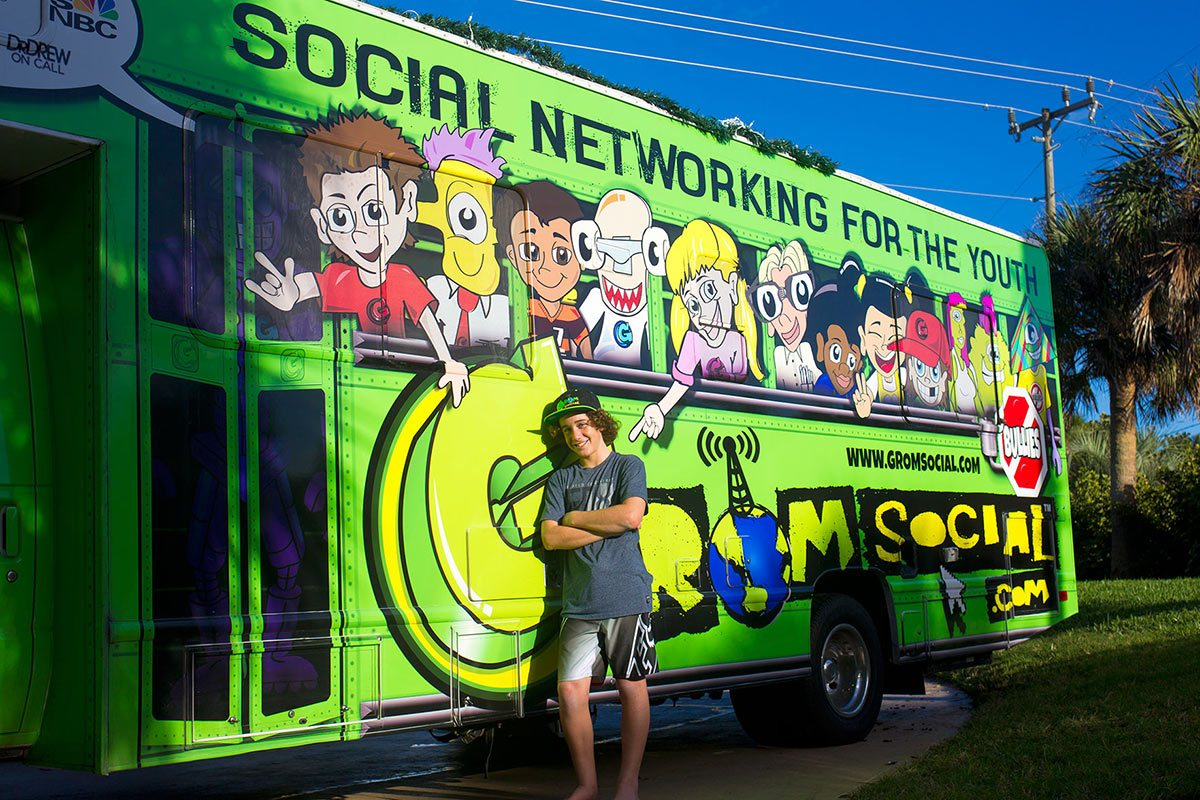 Zach Marks is the founder of Grom Social.