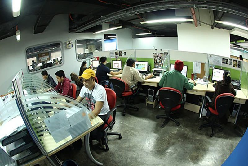 Top Draw Animation has a 23,400-square-foot facility in the Philippines.