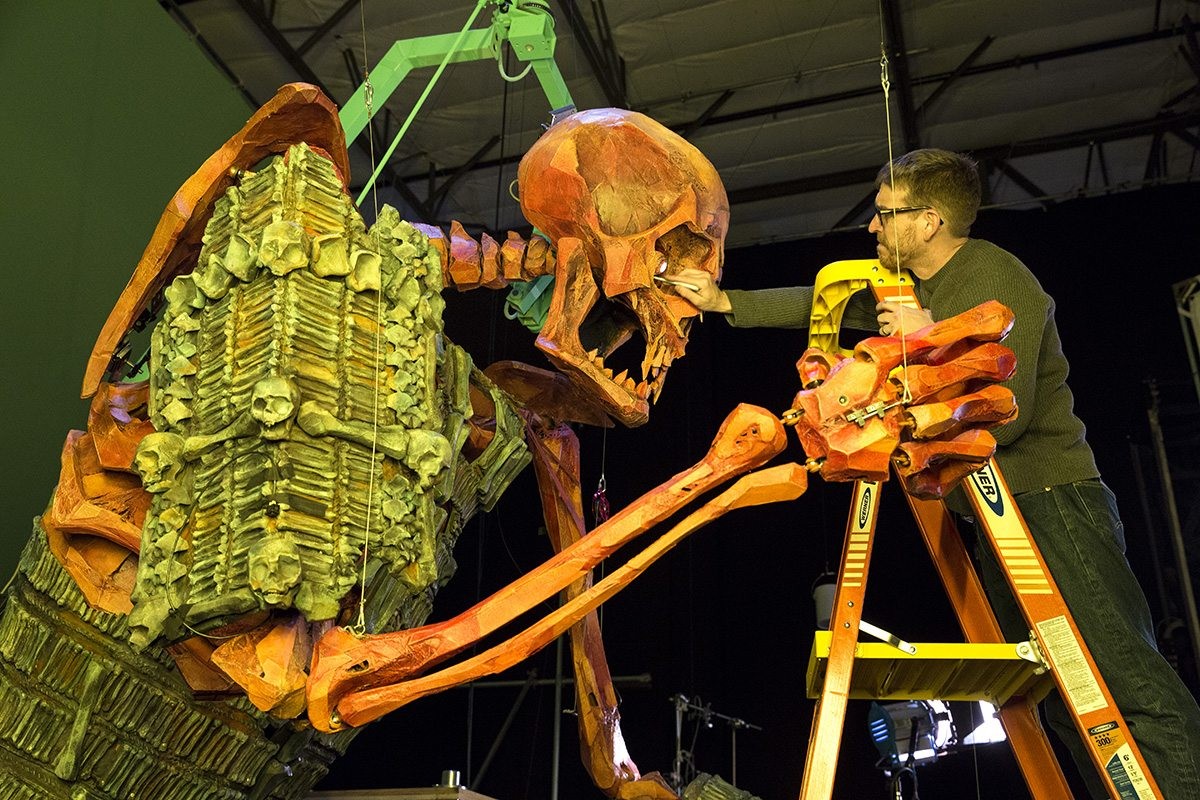Laika Was Crazy Enough To Animate A 16-Foot Tall Skeleton for 'Kubo and The Two Strings'