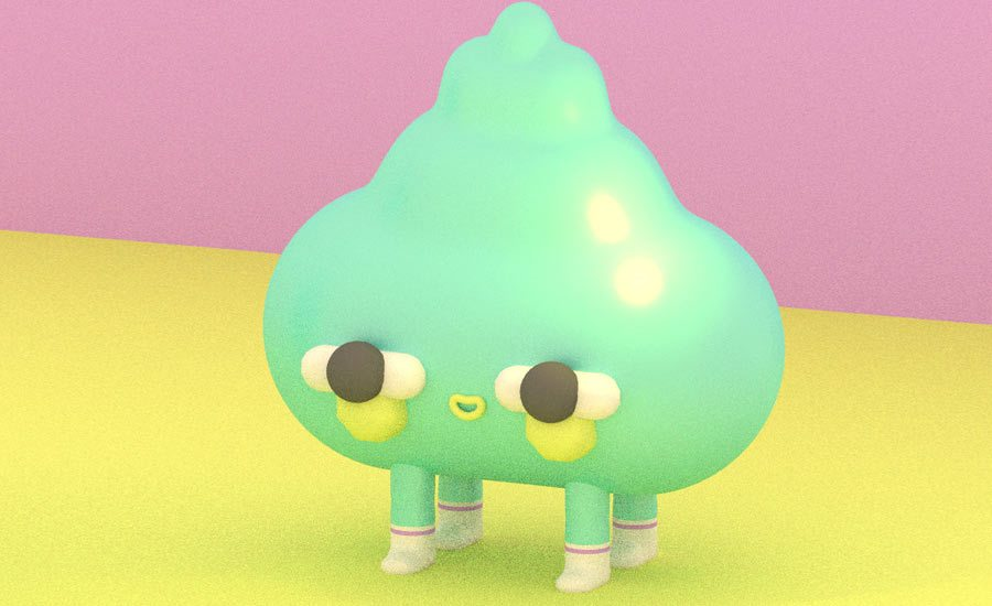 Artwork by Julian Glander.