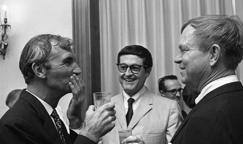 Left to right: Norman McLaren, Bob Clampett, Chuck Jones. (Photo: Bruno Massenet/The Bruno Massenet fonds of The Cinémathèque québécoise)