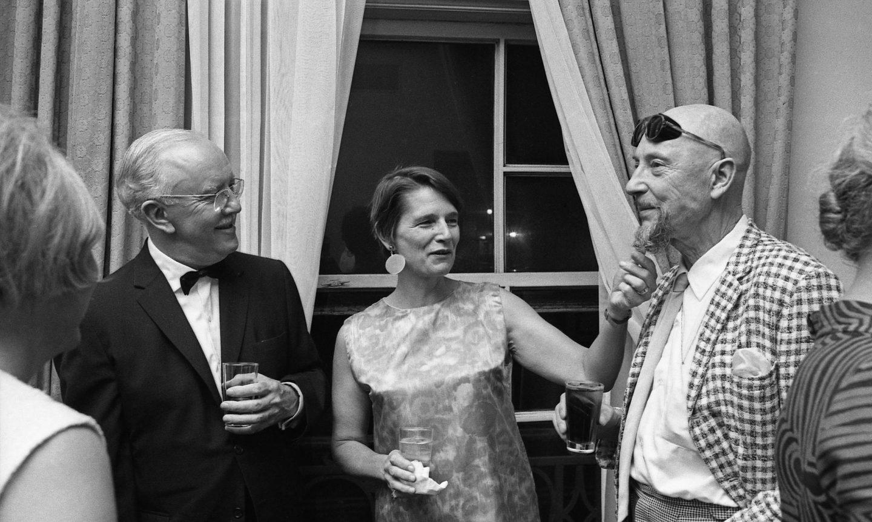 Ub Iwerks,  Ann Lye, Len Lye. (Photo: Bruno Massenet/The Bruno Massenet fonds of The Cinémathèque québécoise)