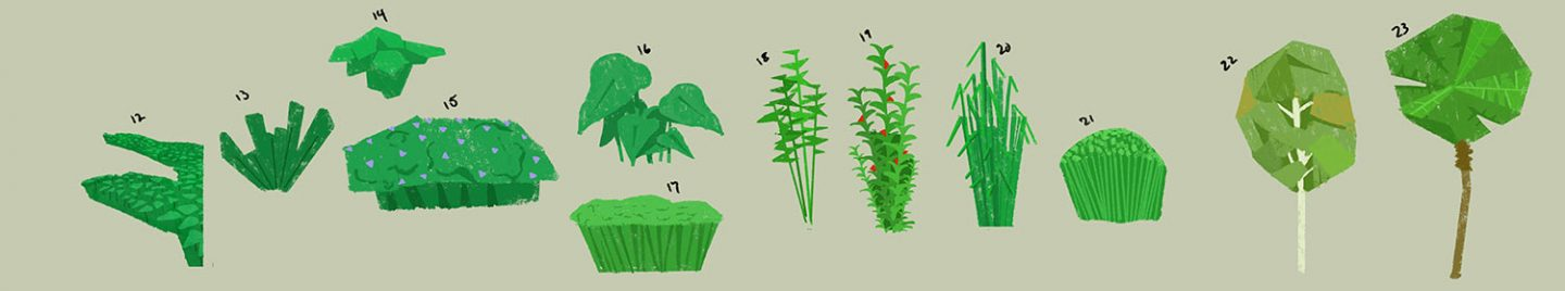 Plant Shapes by Kenny Callicutt and James Cassettari.