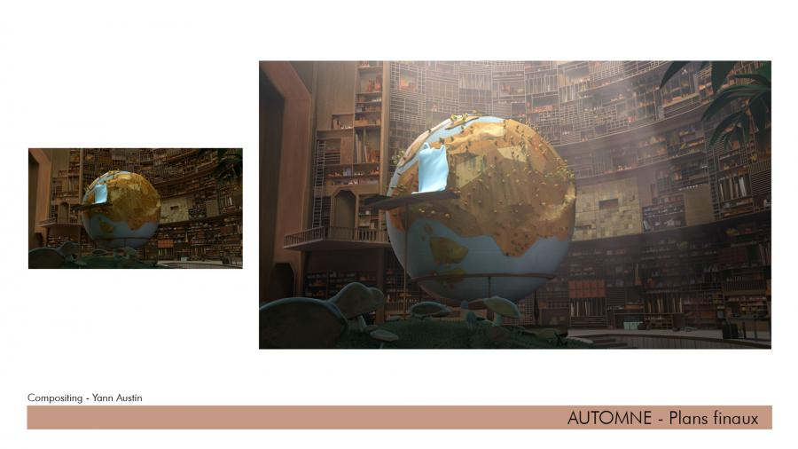 """""""Automne"""" concept and production artwork."""