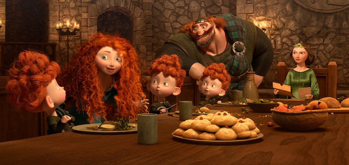 "Pixar's ""Brave,"" conceived and co-directed by Chapman, won the Oscar for best animated feature."