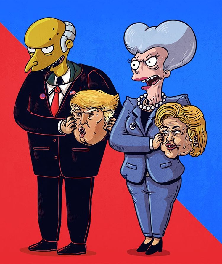 Election 2016 by Alex Solis