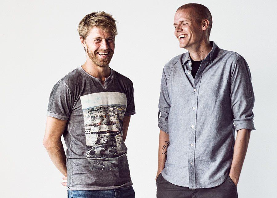 Gigglebug creators Anttu Harlin (l.) and JoonasUtti.