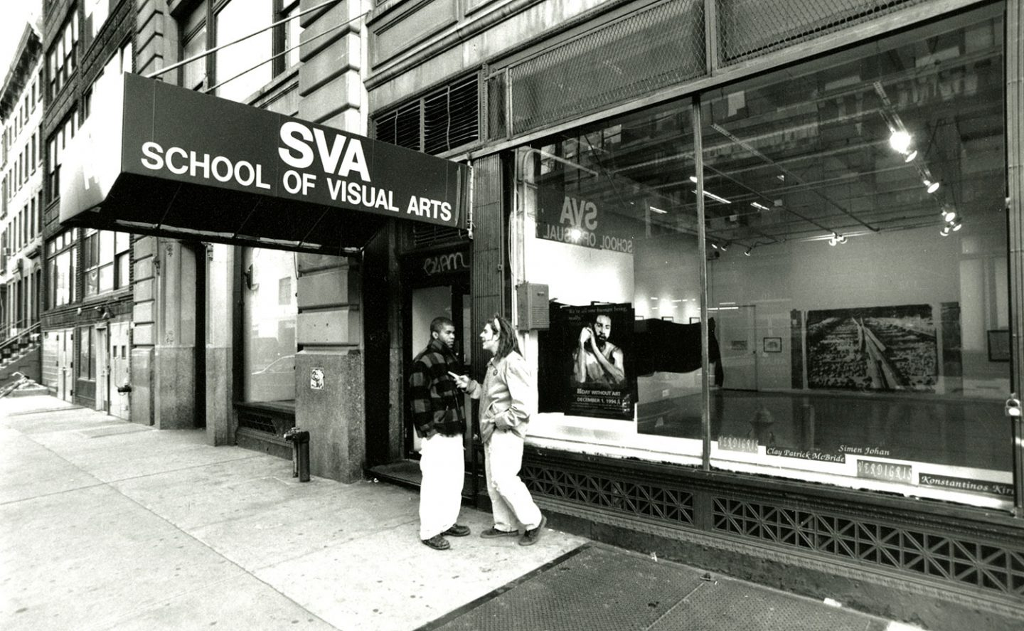 School of Visual Arts, 1994.